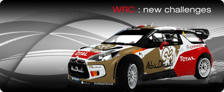 Citroen World Rally Championship Car