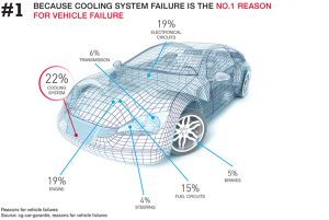 Cooling System Failure, use antifreeze
