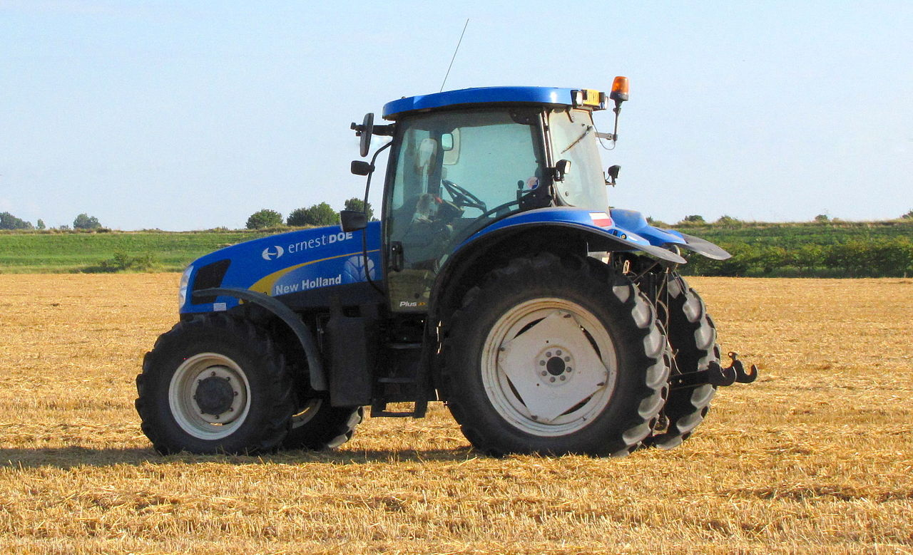 Oil for a new Holland tractor