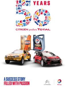 50 years of Total and Citroen