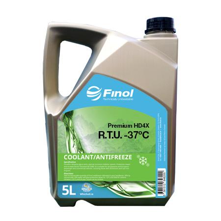 Finol Premium Coolant HD4X RTU -37C