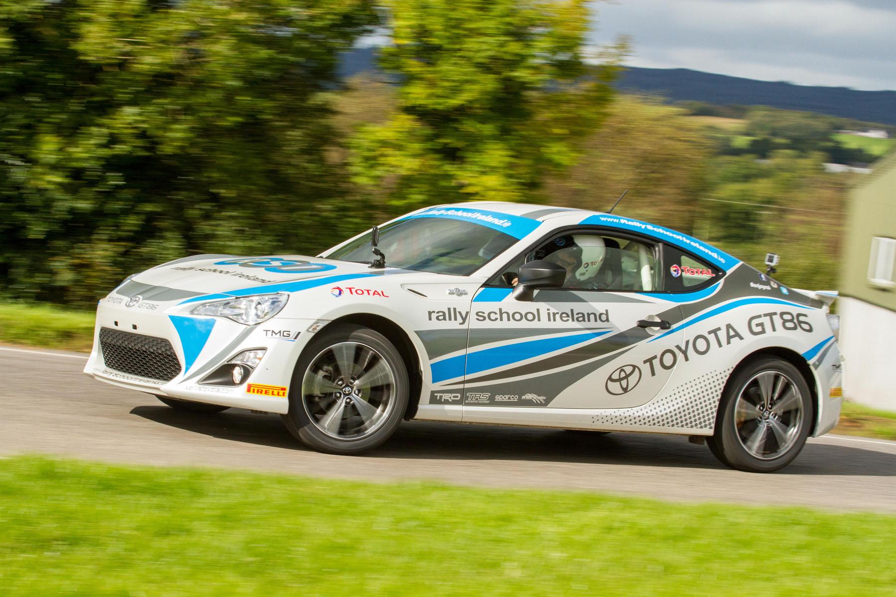 Toyota Rally School Ireland